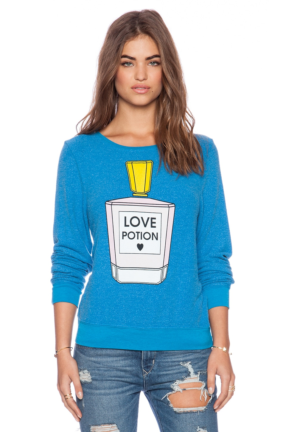 Wildfox Couture Pink Potion Sweater in Mall
