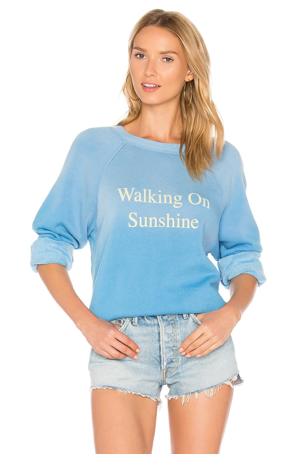 Walking On Sunshine Pullover by Wildfox Couture