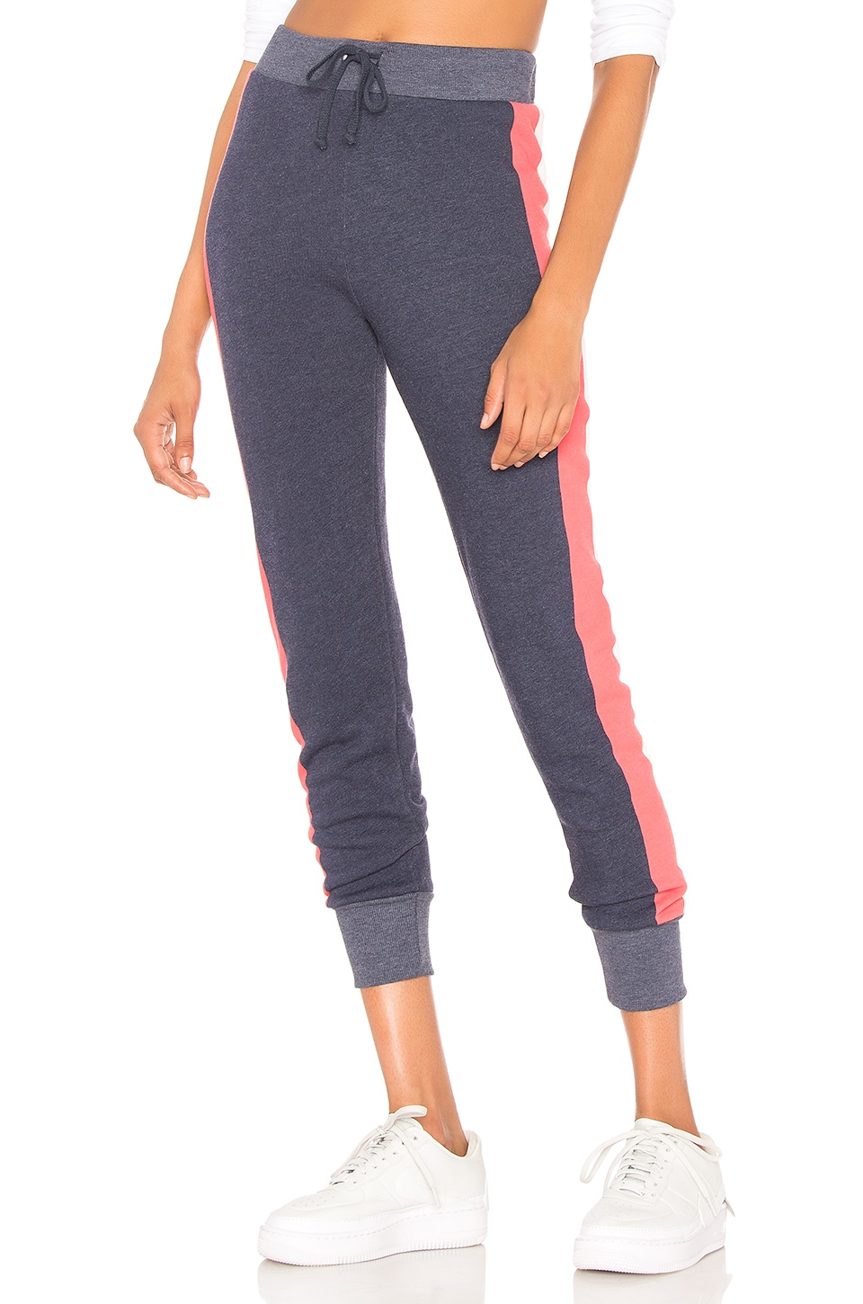 Wildfox Couture Varsity Stripe Jack Jogger in Oxford