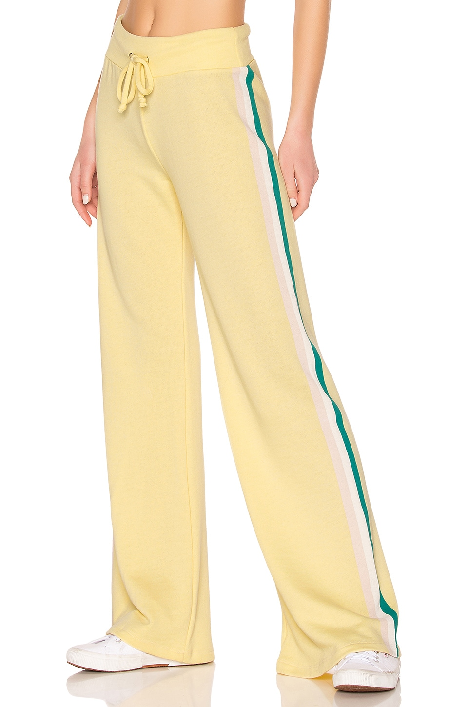 Wildfox Couture Tri Stripe Sweatpant in Mellow