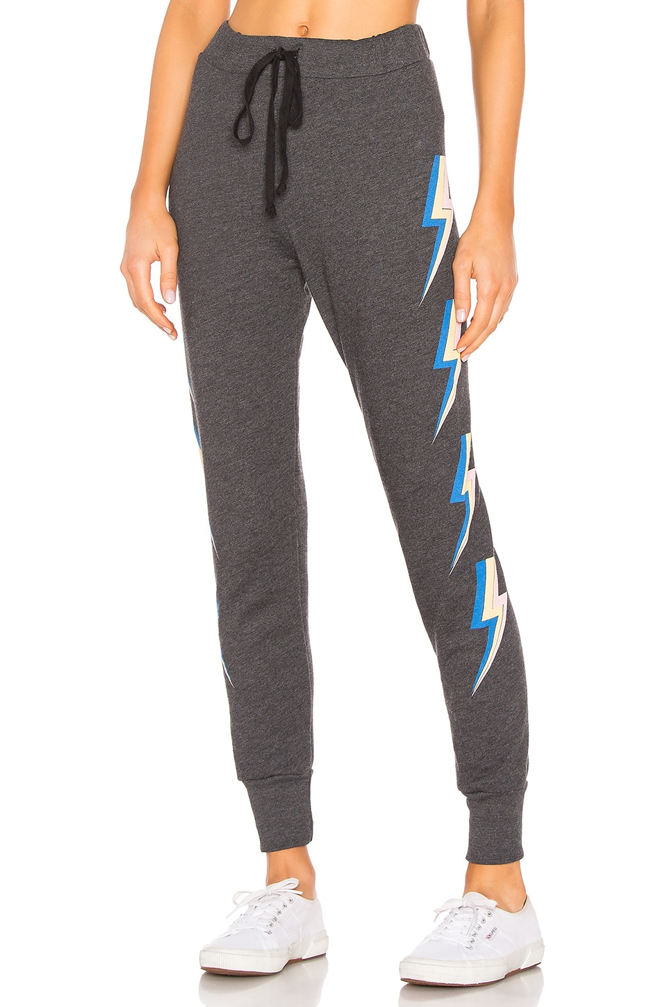 Wildfox Couture Jack Jogger in Clean Black