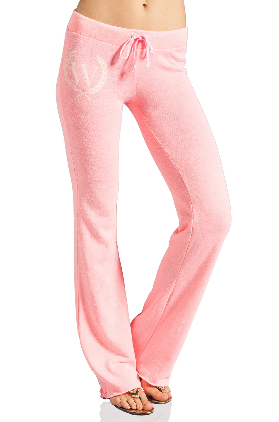 Wildfox Couture Yacht Club Shopping Sweatpants in Neon Sign