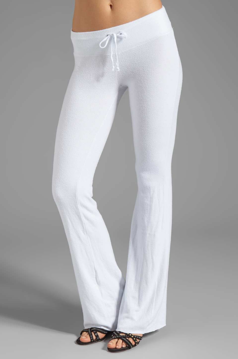 Wildfox Couture Tennis Club Sweat Pants in Clean White