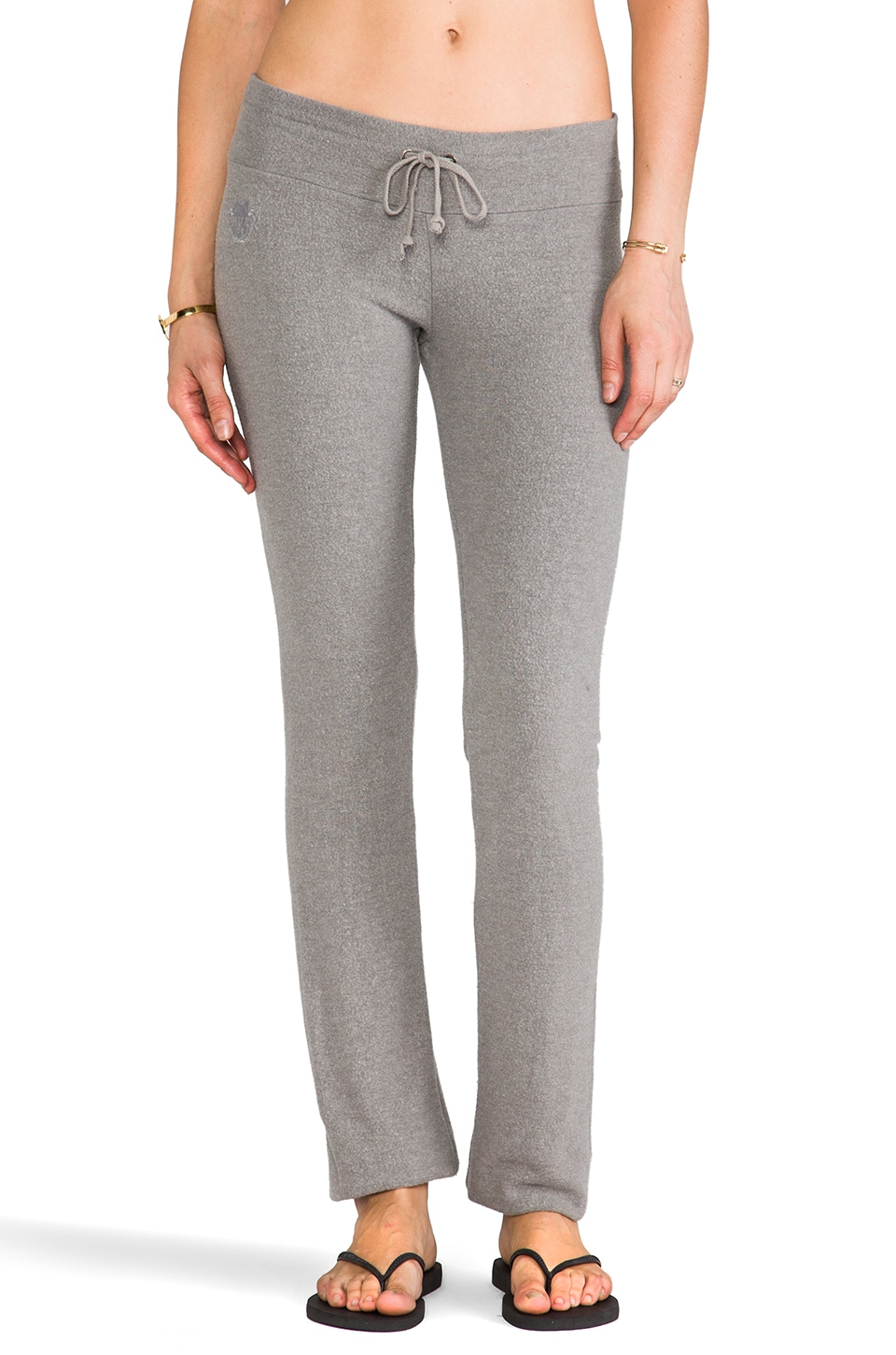Wildfox Couture Malibu Skinny Sweats in Vintage Grey