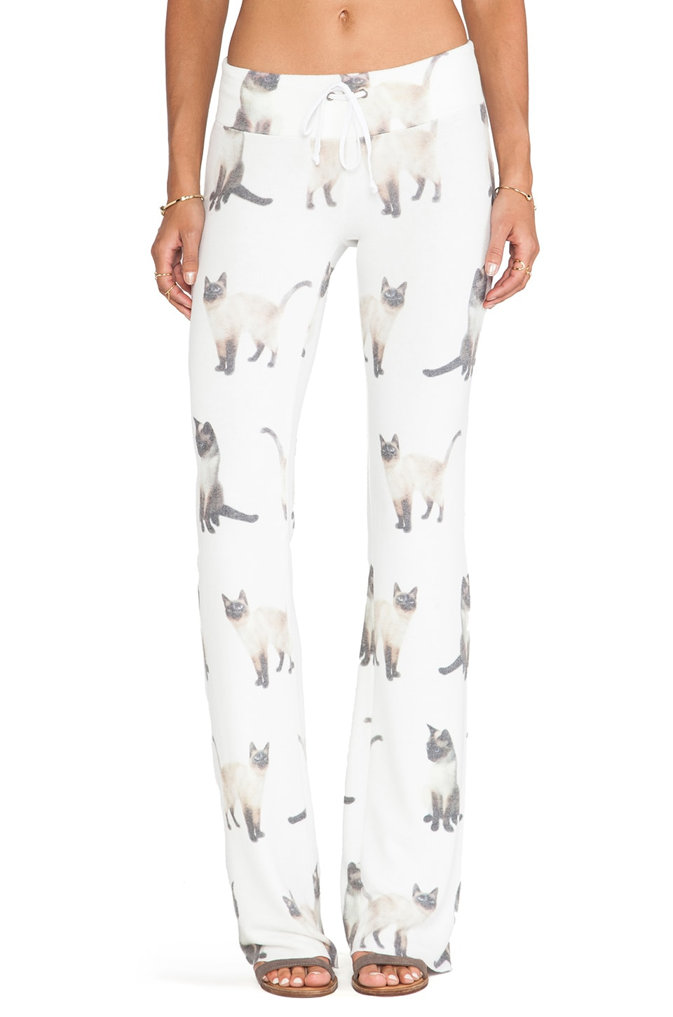 Wildfox Couture We Are Siamese Tennis Club Pant in Multi