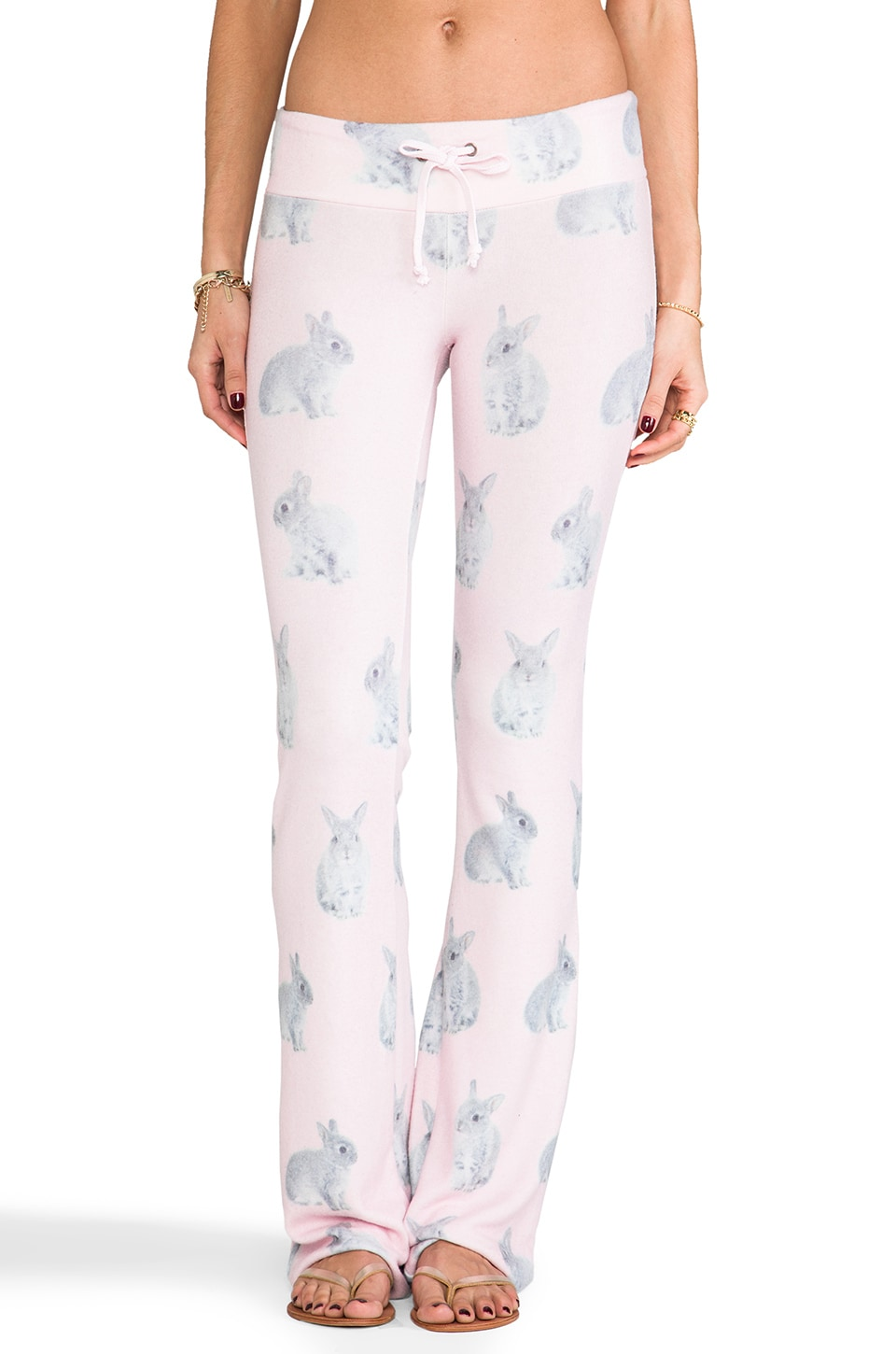 Wildfox Couture Snow Bun's Daydream Sweats in Pink Multi