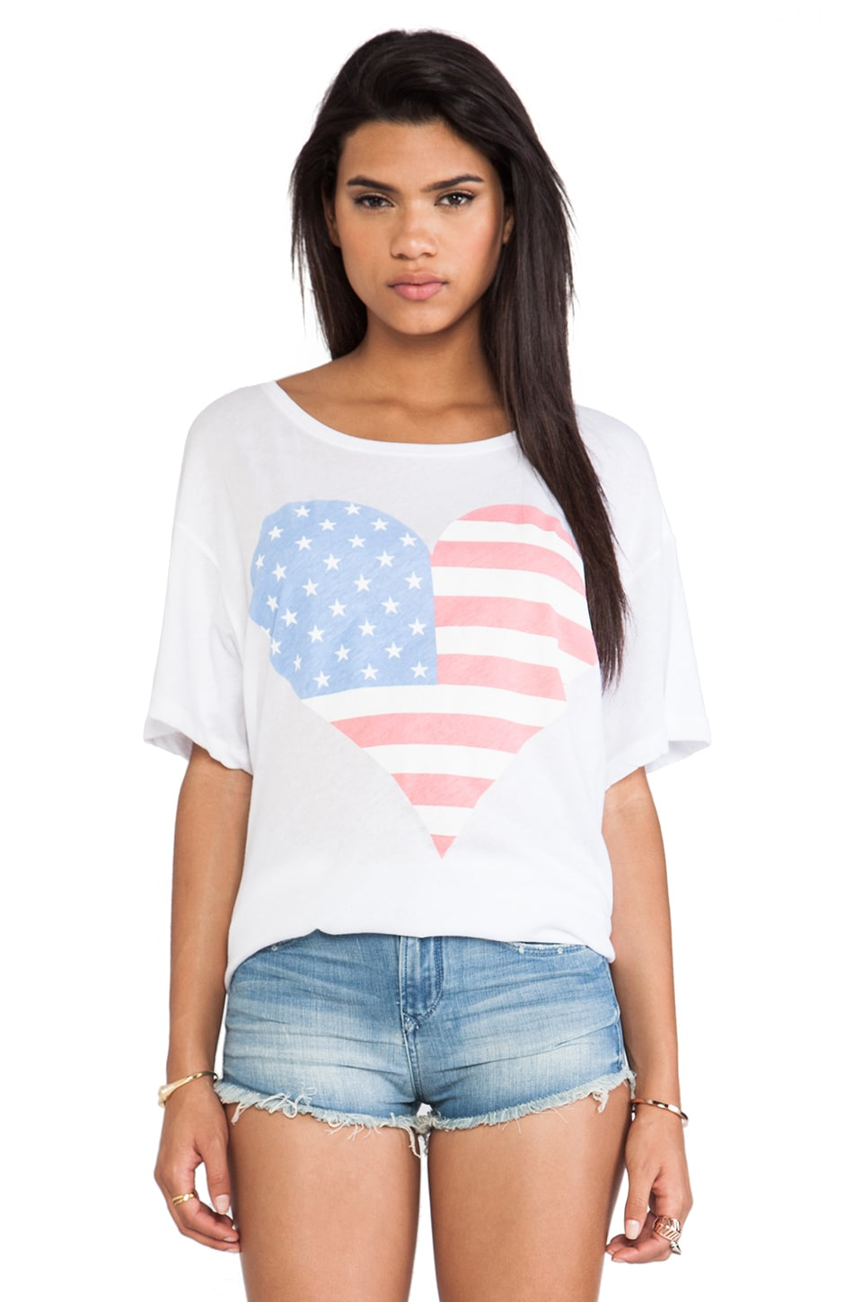 Wildfox Couture American Beach Party in White