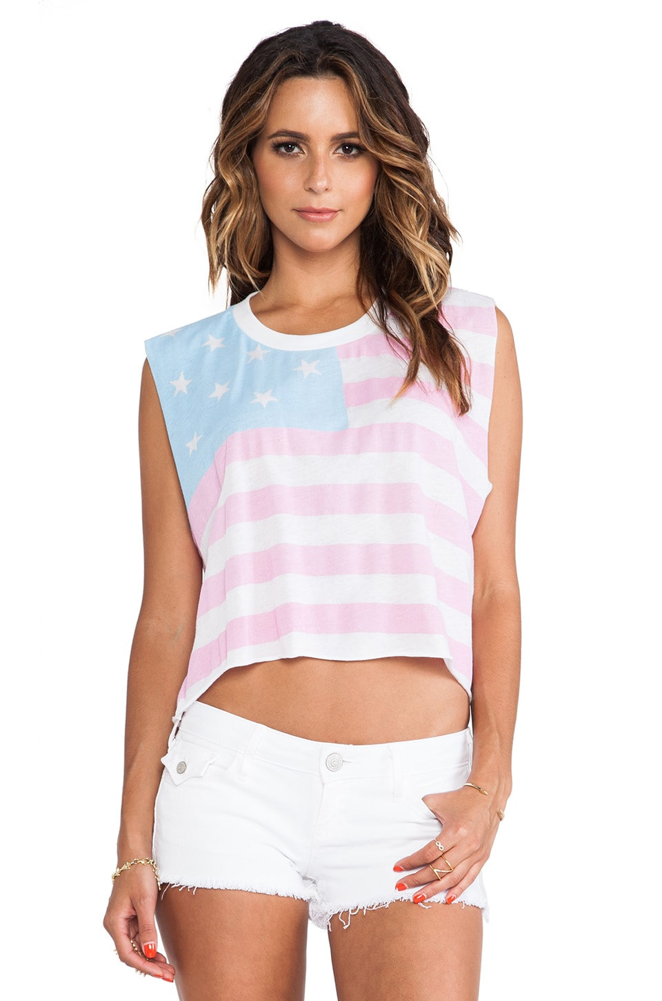 Wildfox Couture American Baby Chad Tank in Clean White