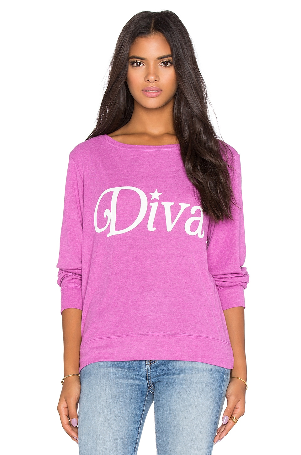 Wildfox Couture Diva Tee in Lavender Dream