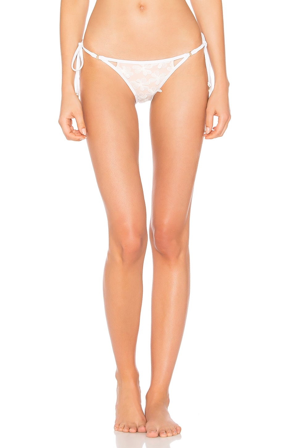 Daisy Mesh Zooey Triangle Bottom by Wildfox Couture