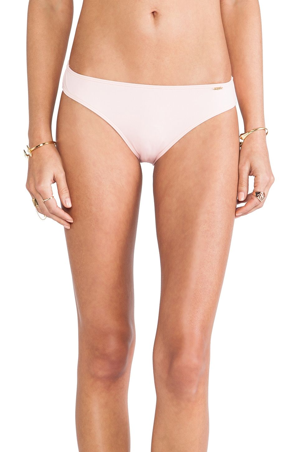 Wildfox Couture Morning Sunrise Bikini Bottom in Pink Shell