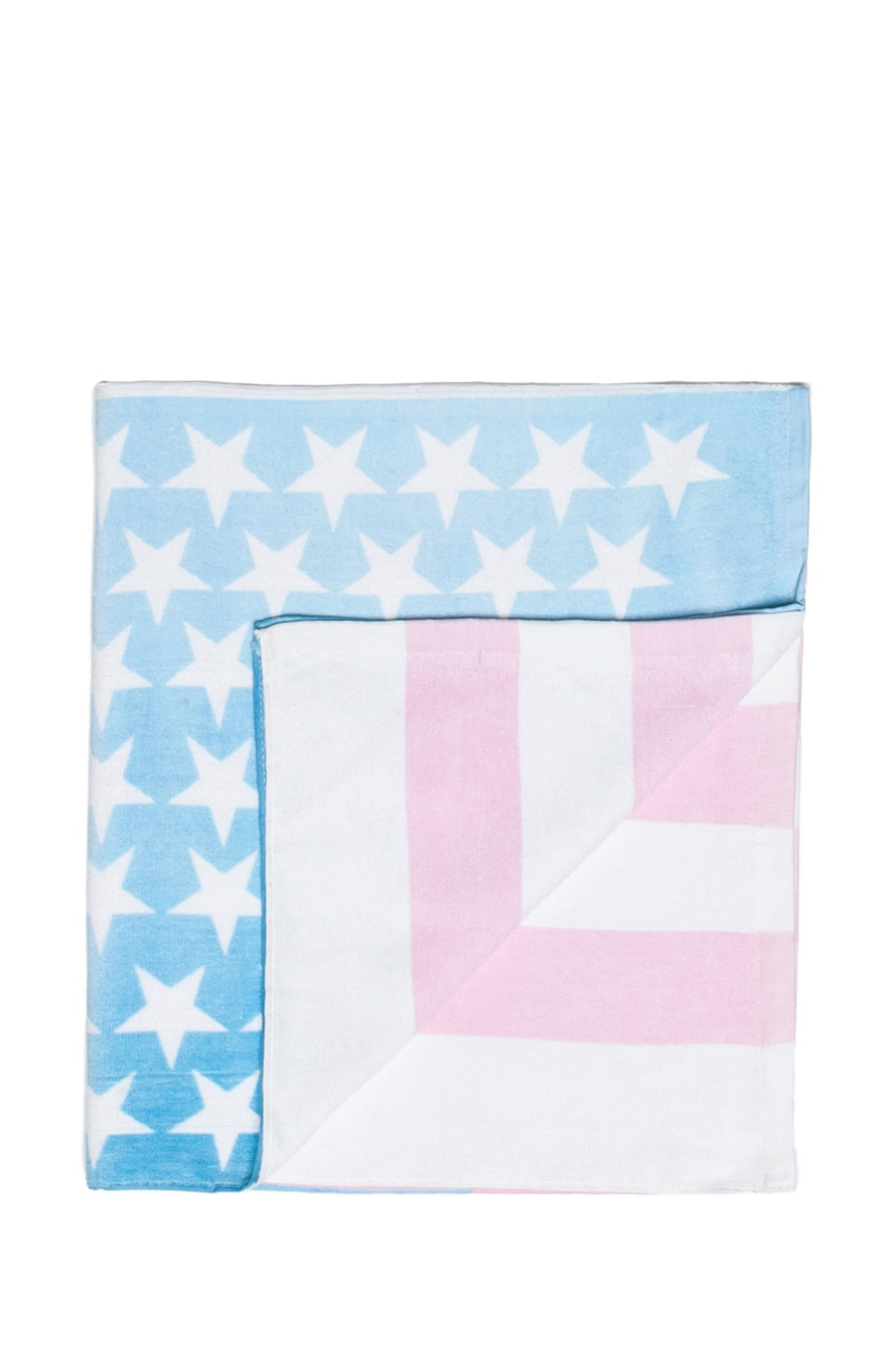 Wildfox Couture Sun Bleached Flag Towel in Multi