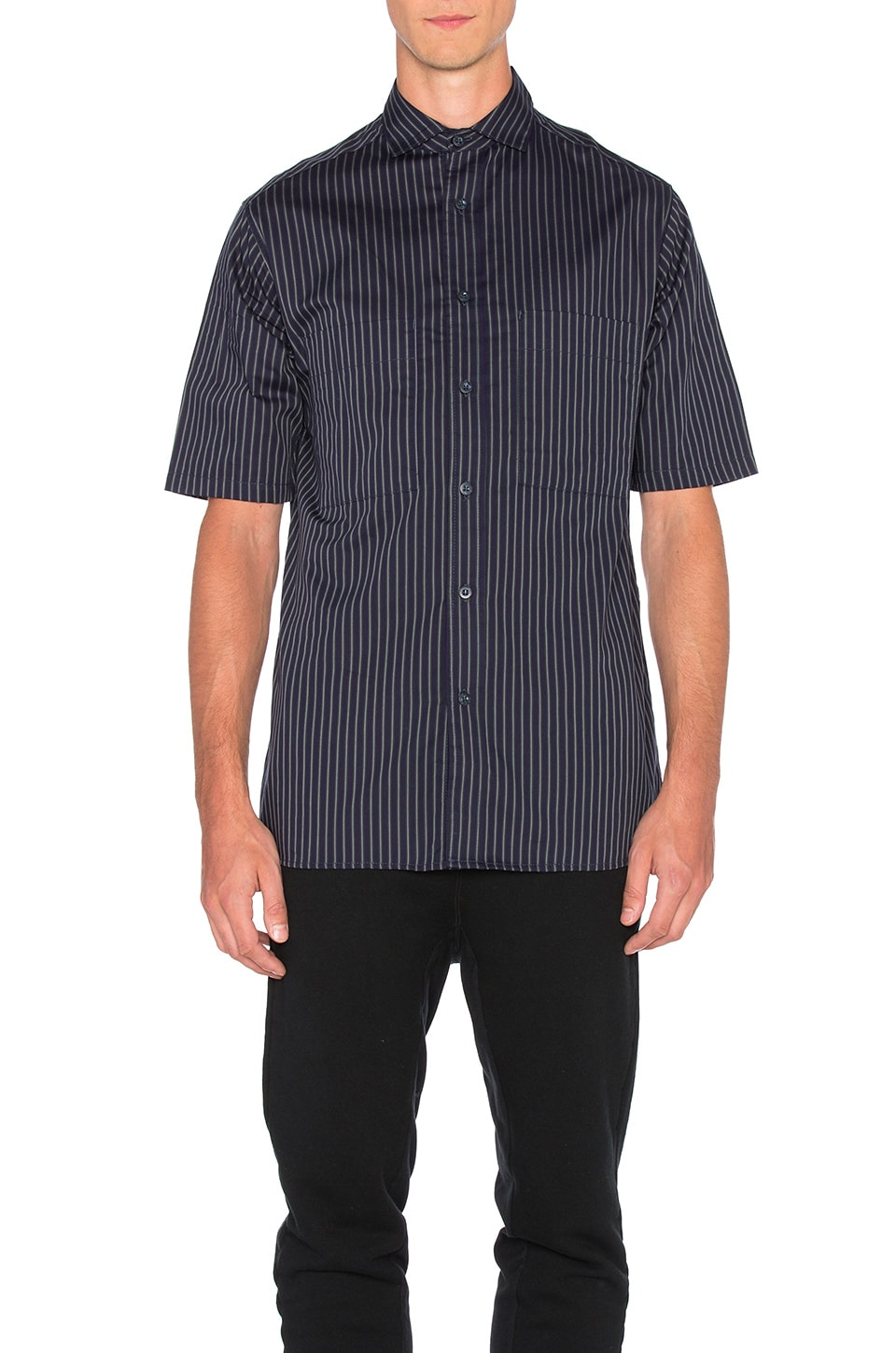 Short Sleeve Utility Shirt by Wil Fry