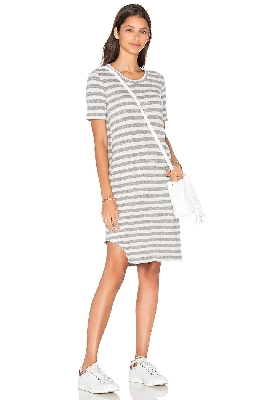 Baby Cashmere T Notch Hem Elbow Sleeve Dress by Wilt