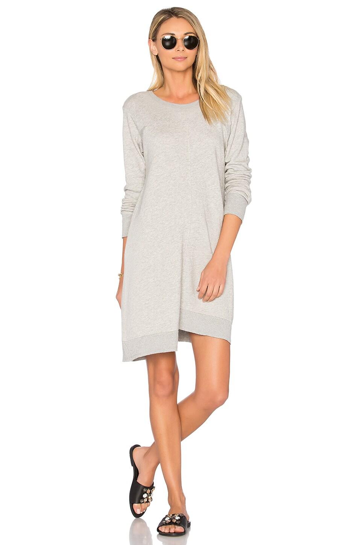 Shrunken Gusset Sweatshirt Dress by Wilt