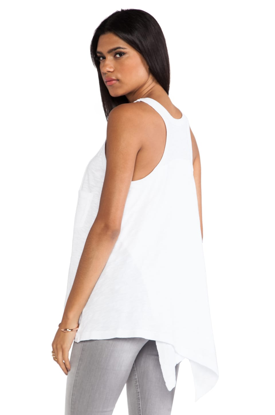 Wilt Crossover Tank in White