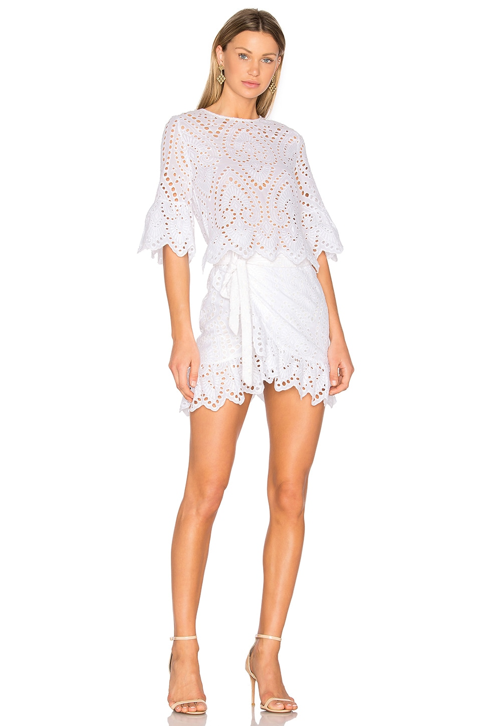 Winona Australia Valerie Wrap Dress in White