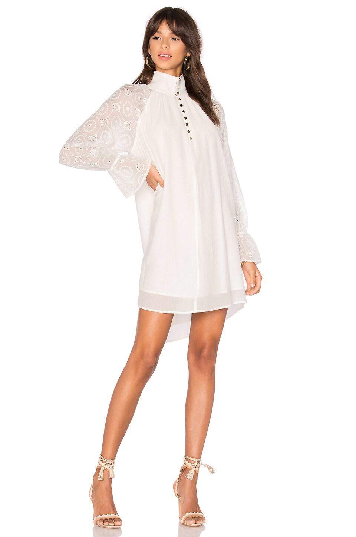 Winona Australia Aimee High Neck dress in White
