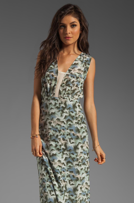 Winter Kate Bodhi Dress in Butterflies Olive