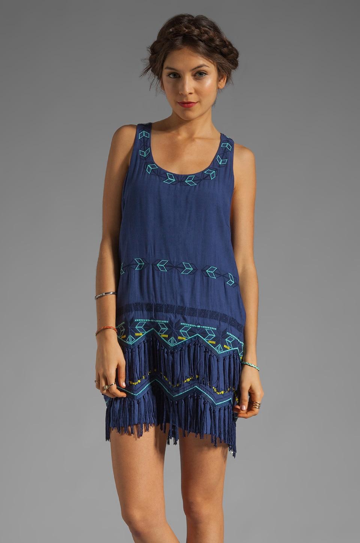 Wish Aztec Dress in Sky