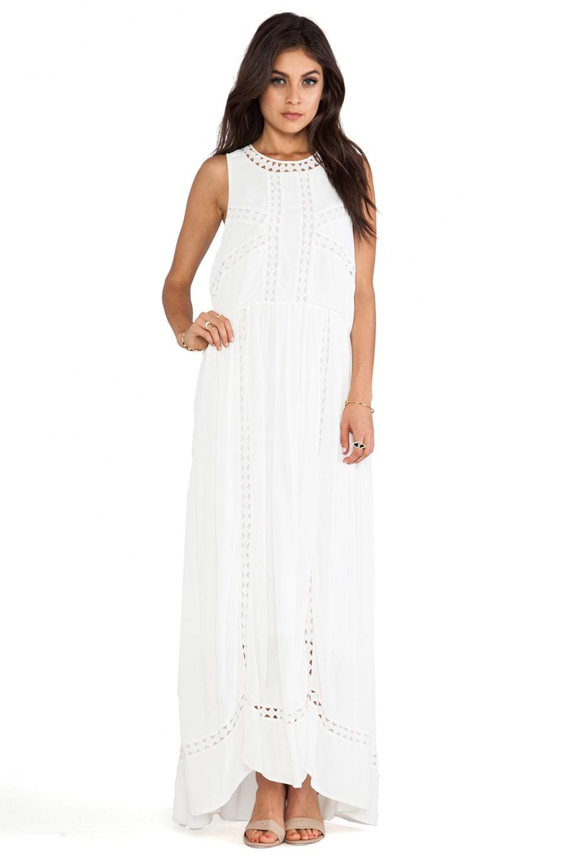 Wish Diamond Maxi Dress in White