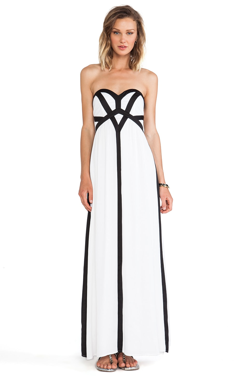 Wish Midas Maxi Dress in White