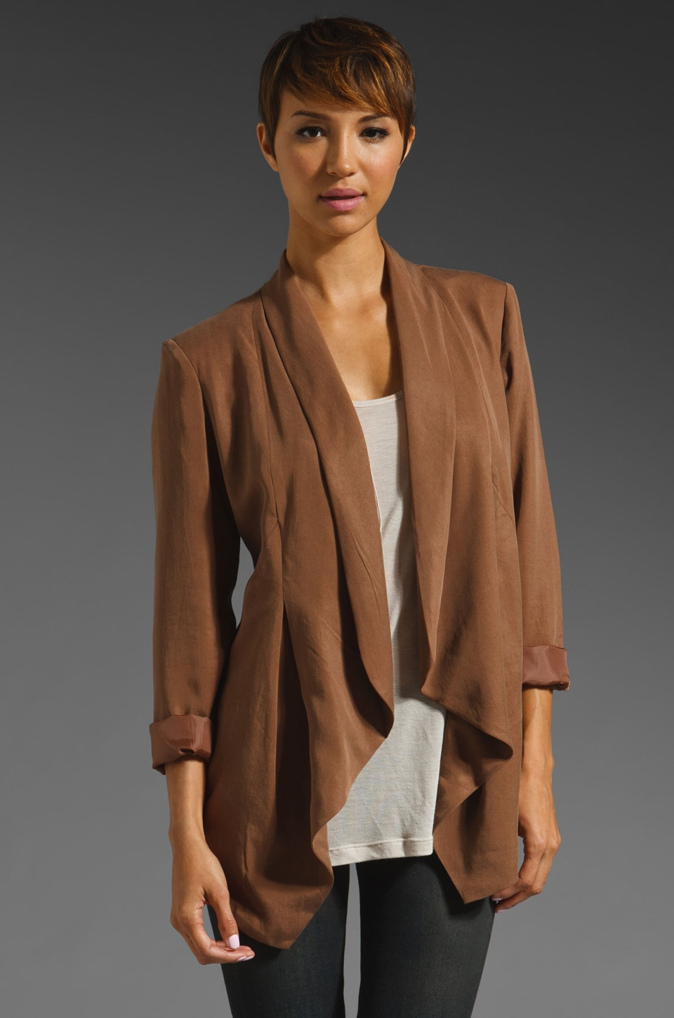 Wish Proxy Blazer in Coffee