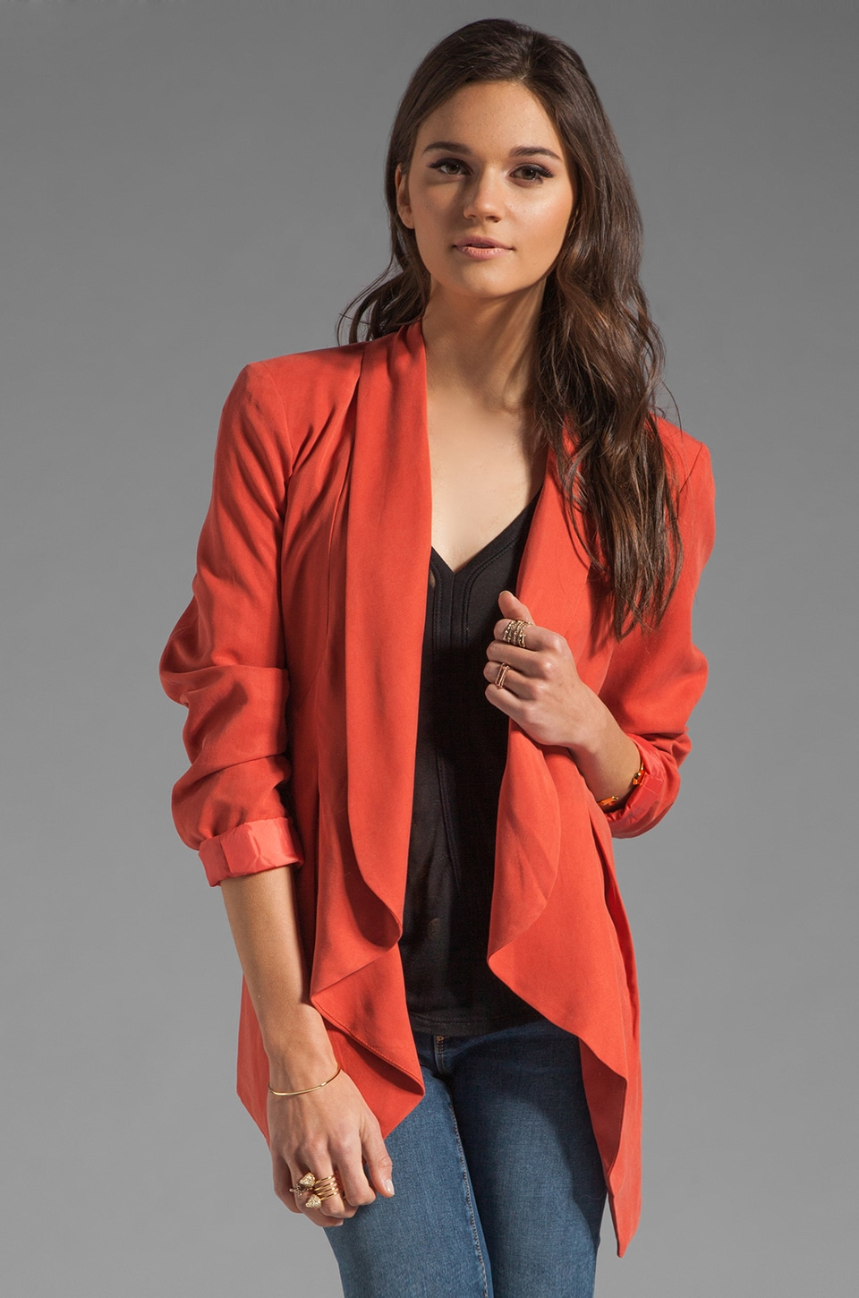 Wish Proxy Blazer in Red Oxide