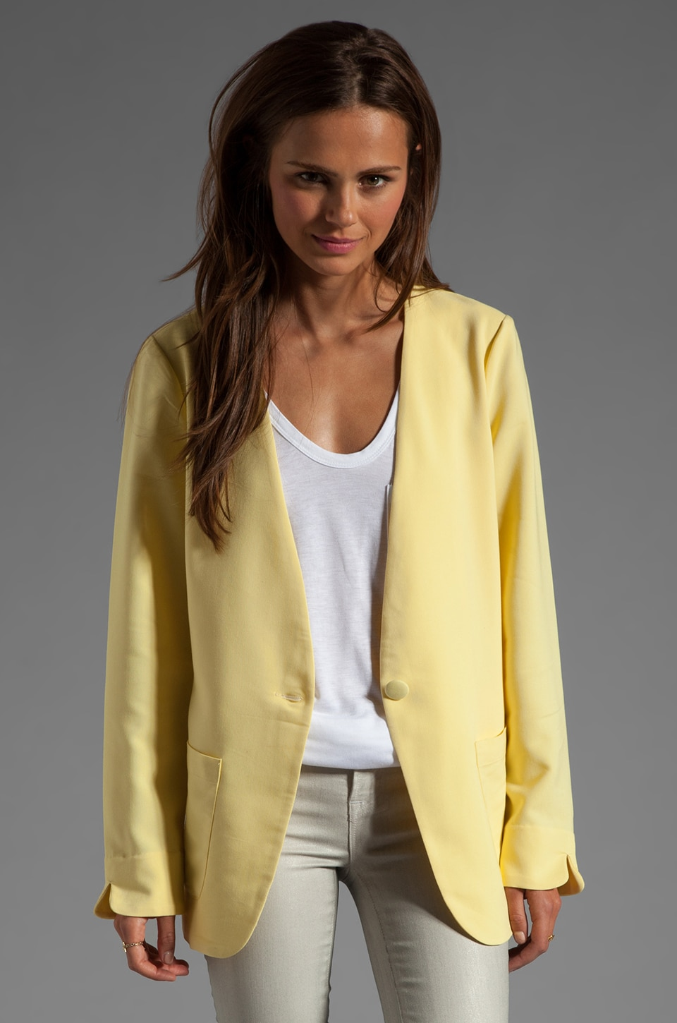 Wish Bliss Jacket in Lemon