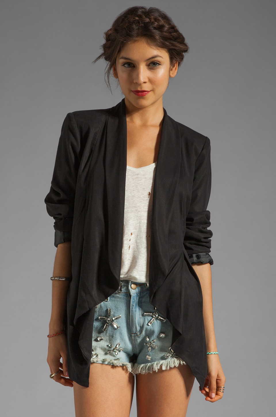 Wish Proxy Blazer in Black