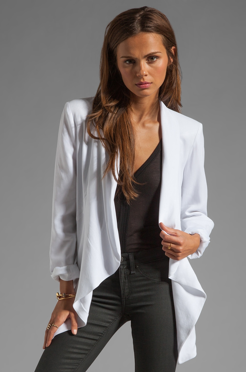 Wish Proxy Blazer in White