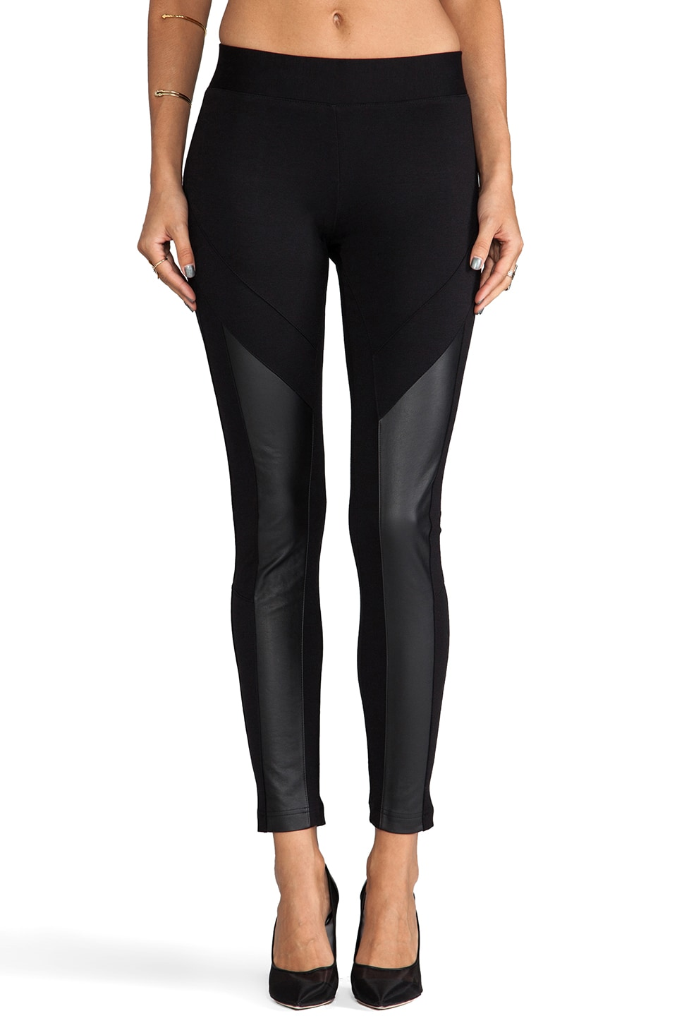 Wish Division Pant in Black