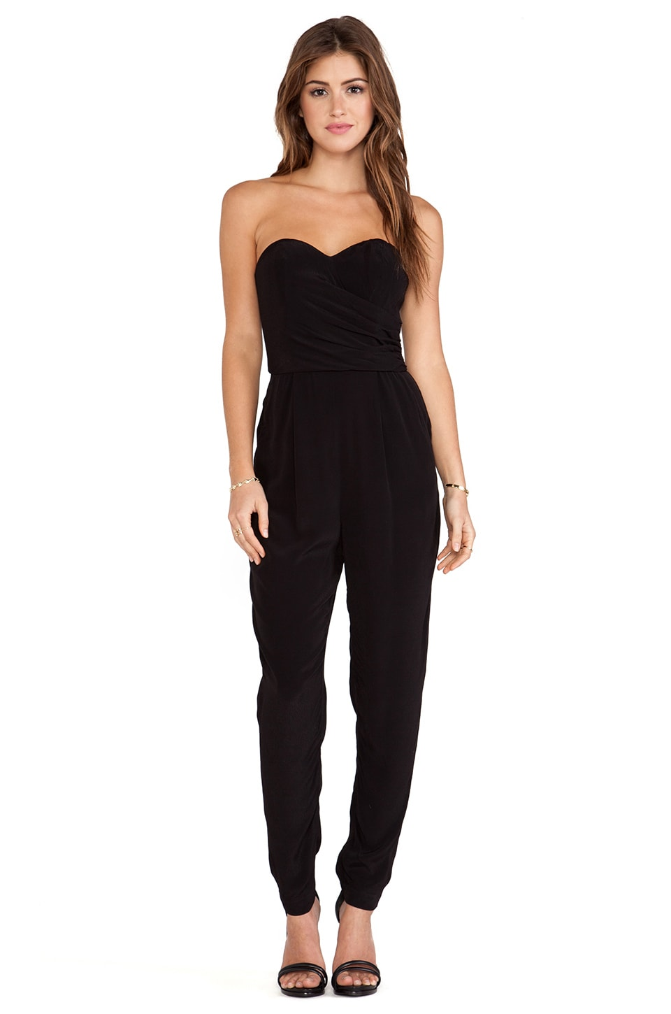 Wish Equal Jumpsuit in Black