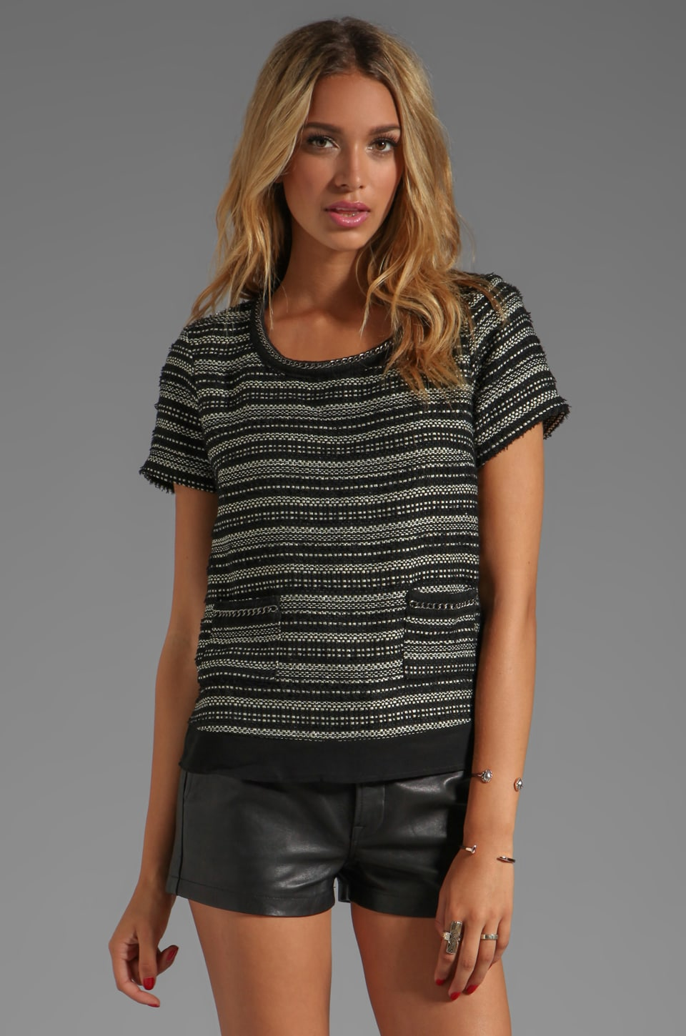 Wish Addict Top in Boucle