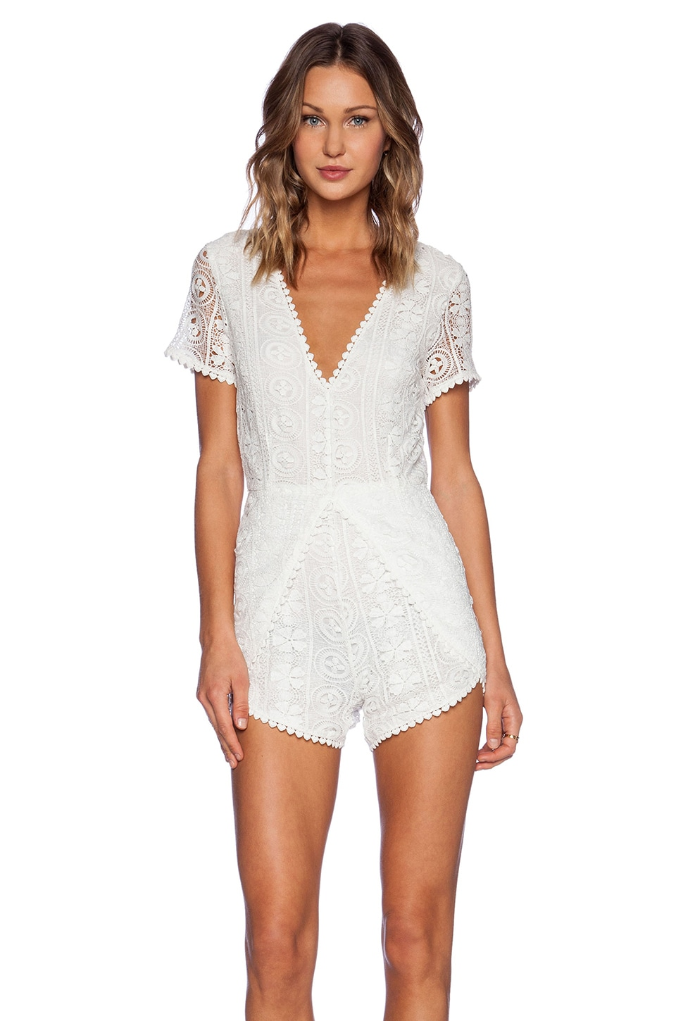 Lost in Lunar COMBISHORT LACED UP