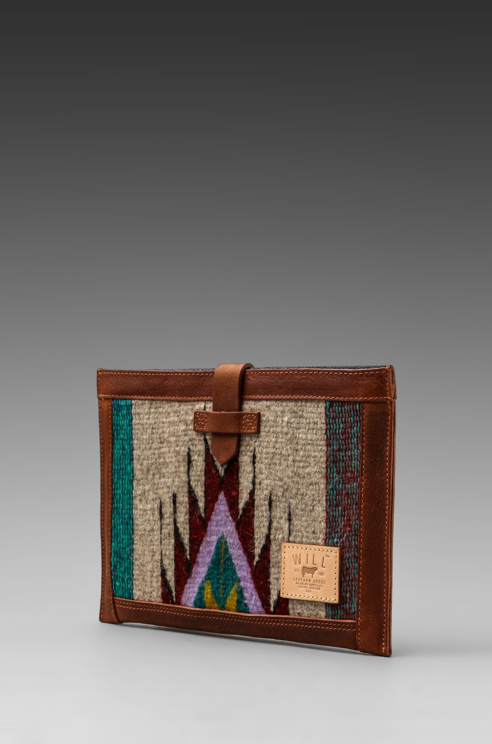 WILL Leather Goods Oaxacan iPad Sleeve in Cognac