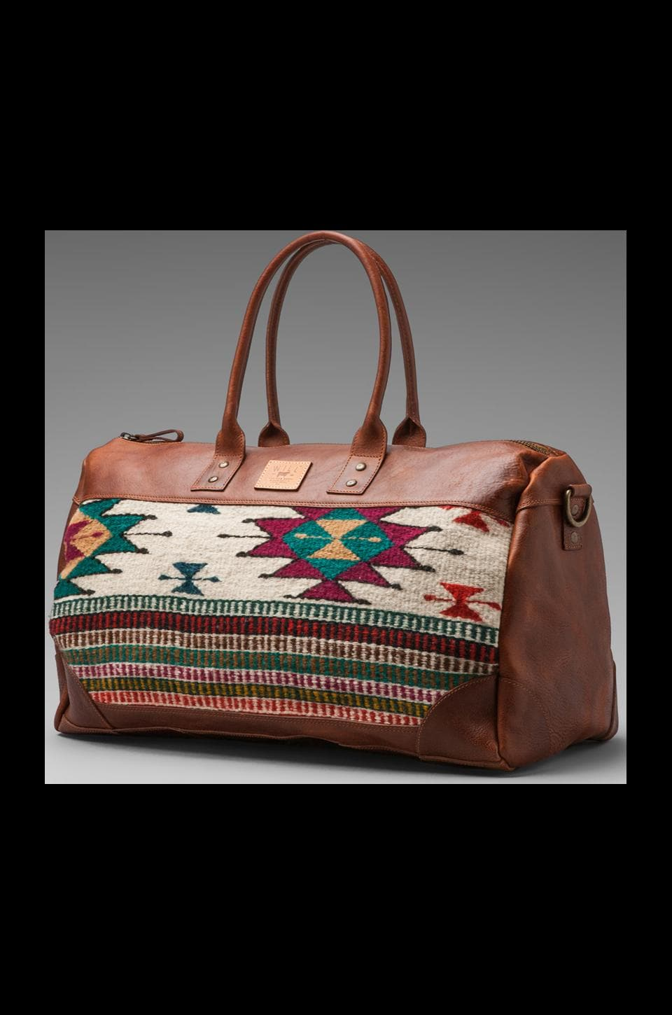 WILL Leather Goods Oaxacan Duffle in Cognac