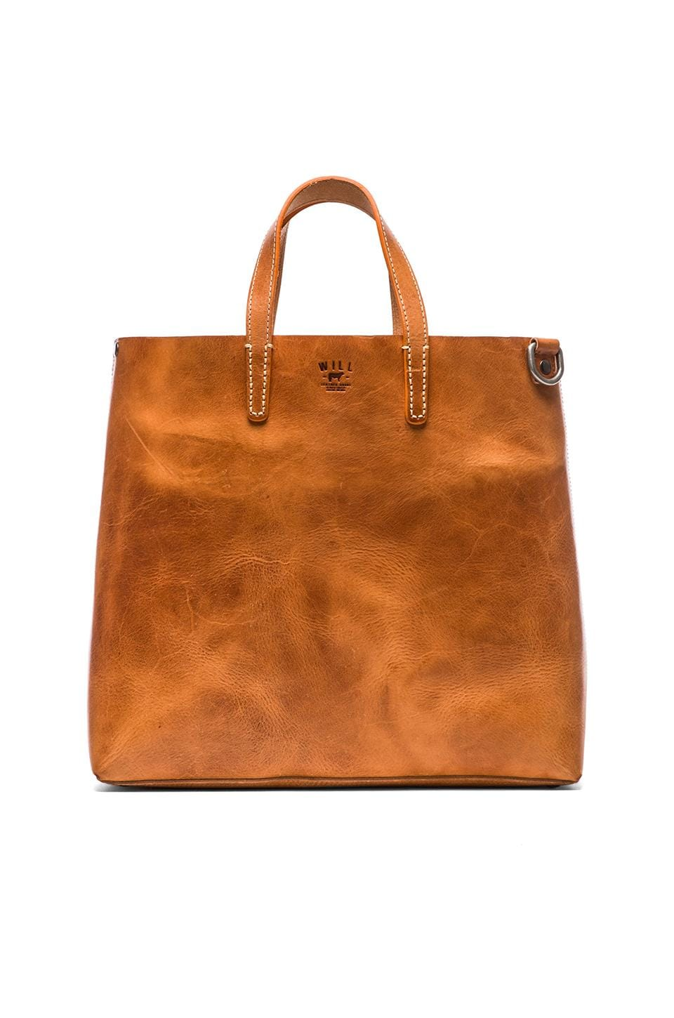 WILL Leather Goods Douglas Tote in Natural