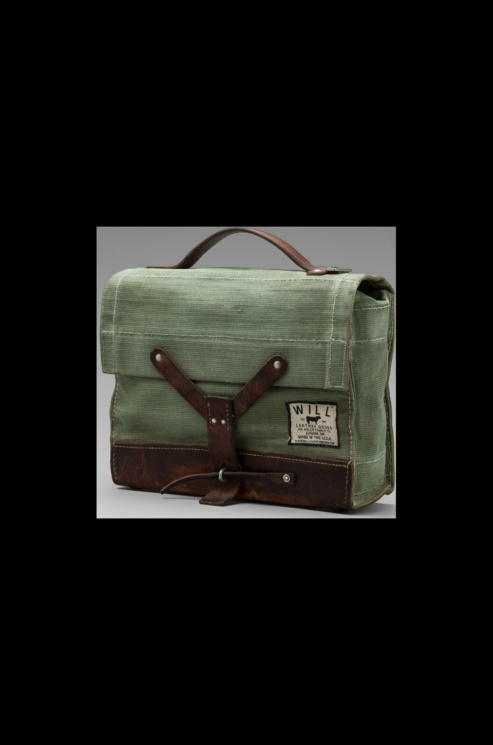 WILL Leather Goods Repurposed Swiss Medic's Bag