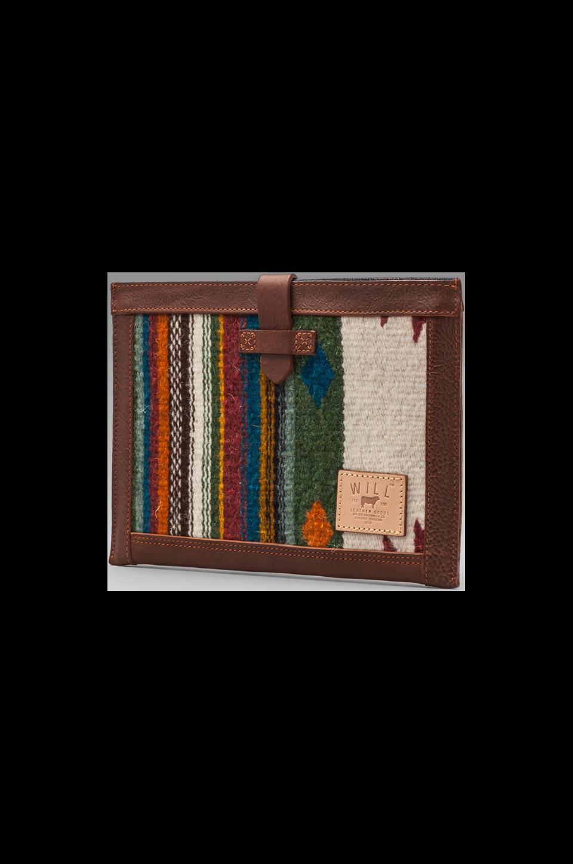 WILL Leather Goods Oaxacan iPad 2 Sleeve in Cognac