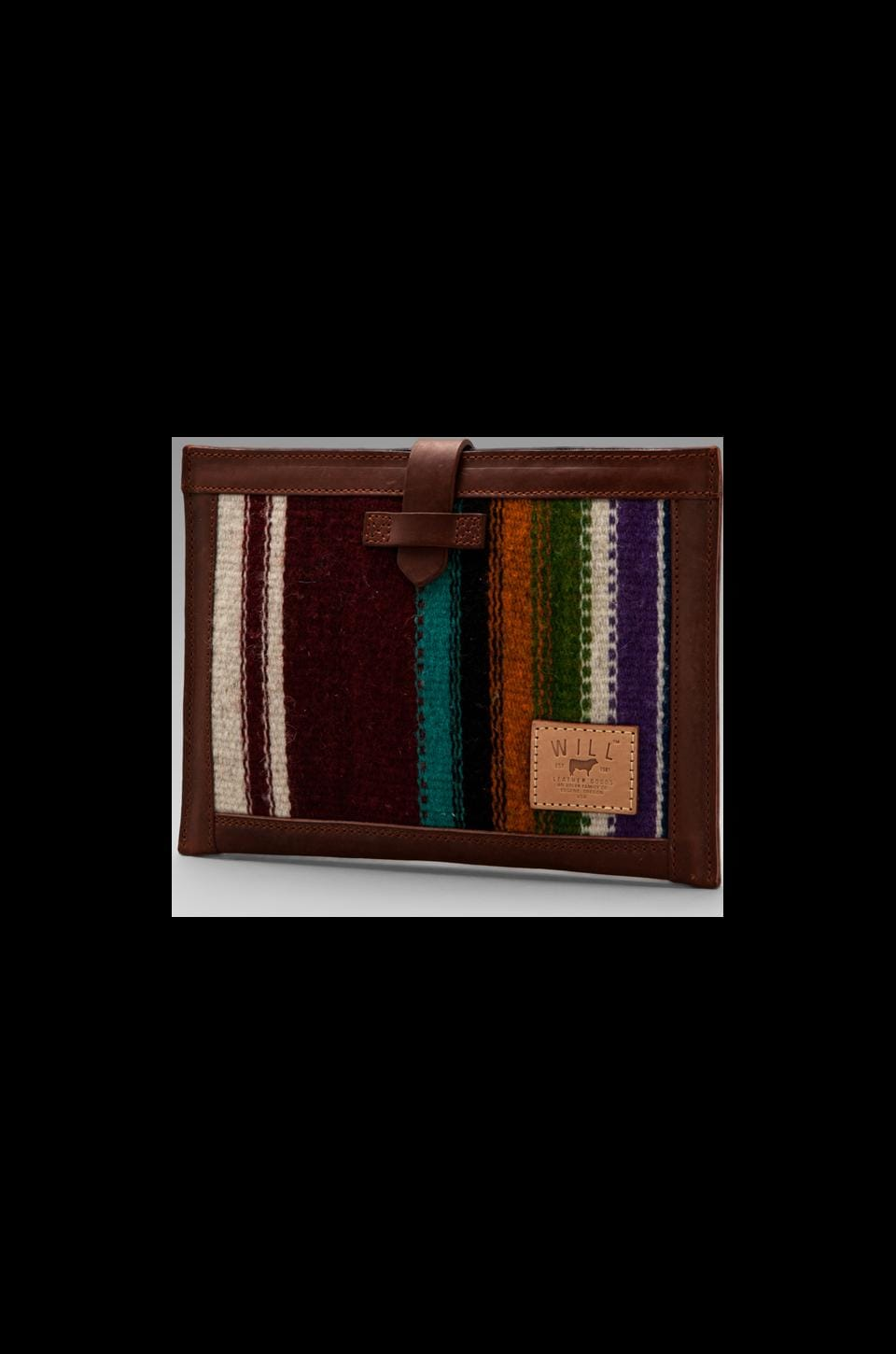 WILL Leather Goods Oaxacan iPad 2 Sleeve in Cognac