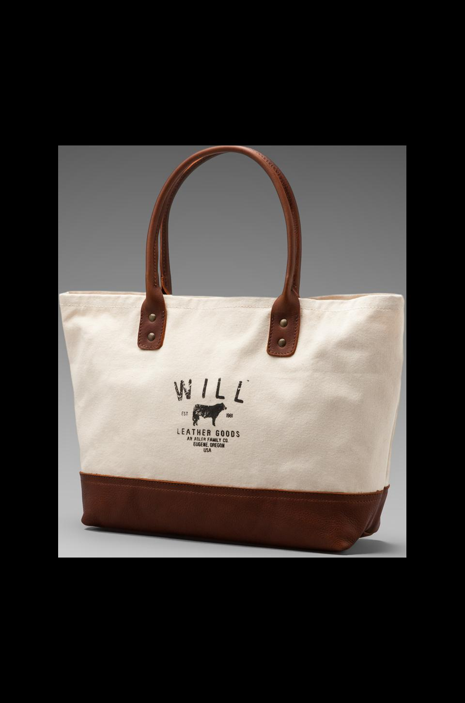 WILL Leather Goods Utility Tote in Natural