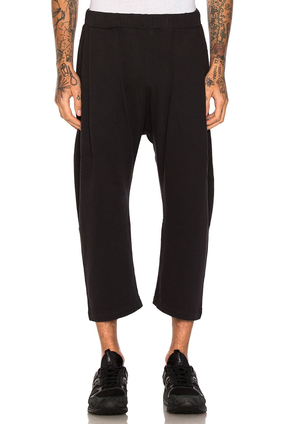 Buffalo Pants in Pirate Black by Willy Chavarria