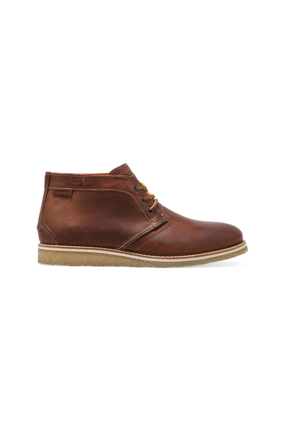 Wolverine 1883 Julian Crepe Chukka Leather in Cognac