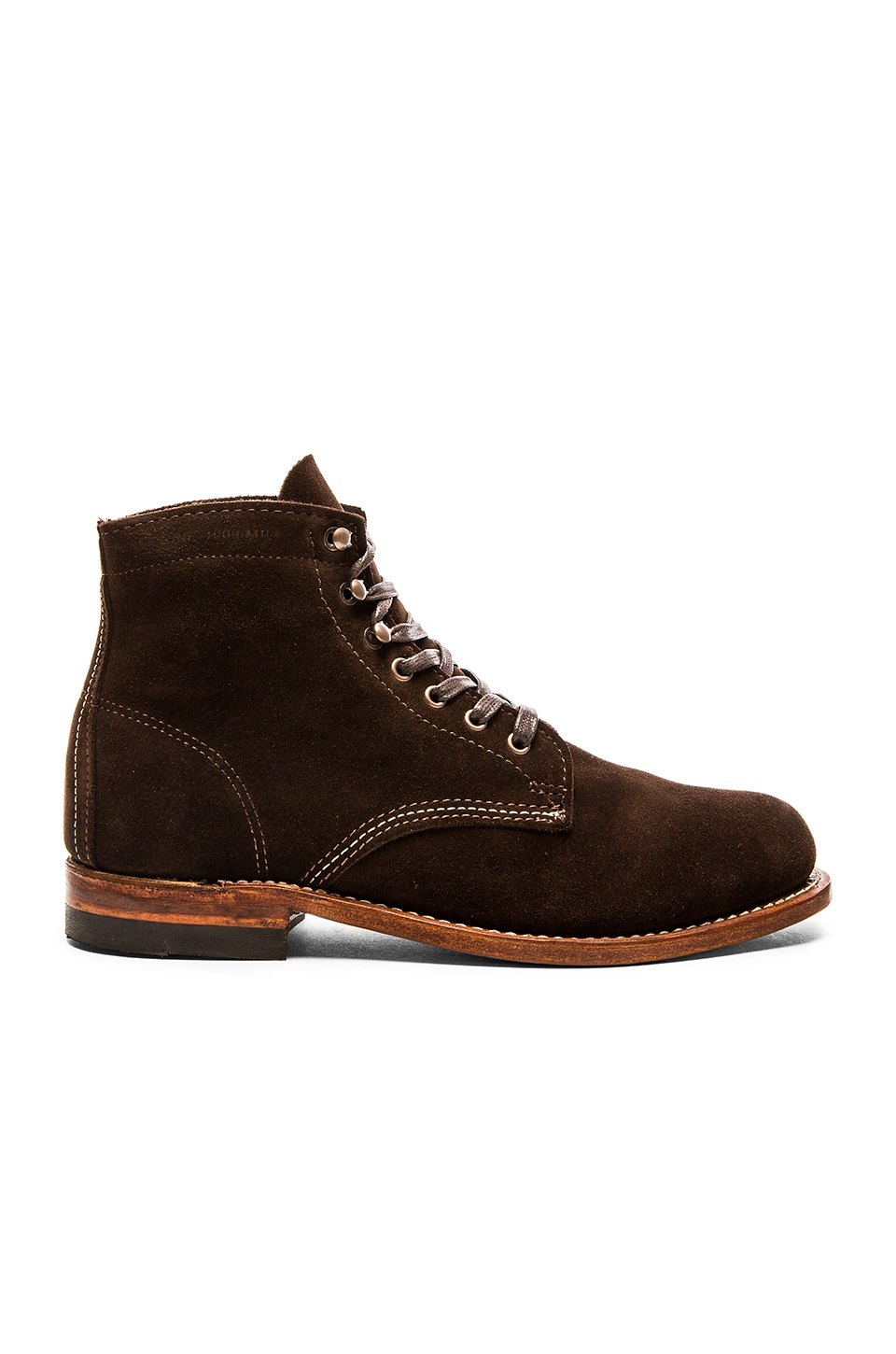 8ac0a929fb6 Wolverine 1000 Mile Original Boot in Brown Suede | REVOLVE