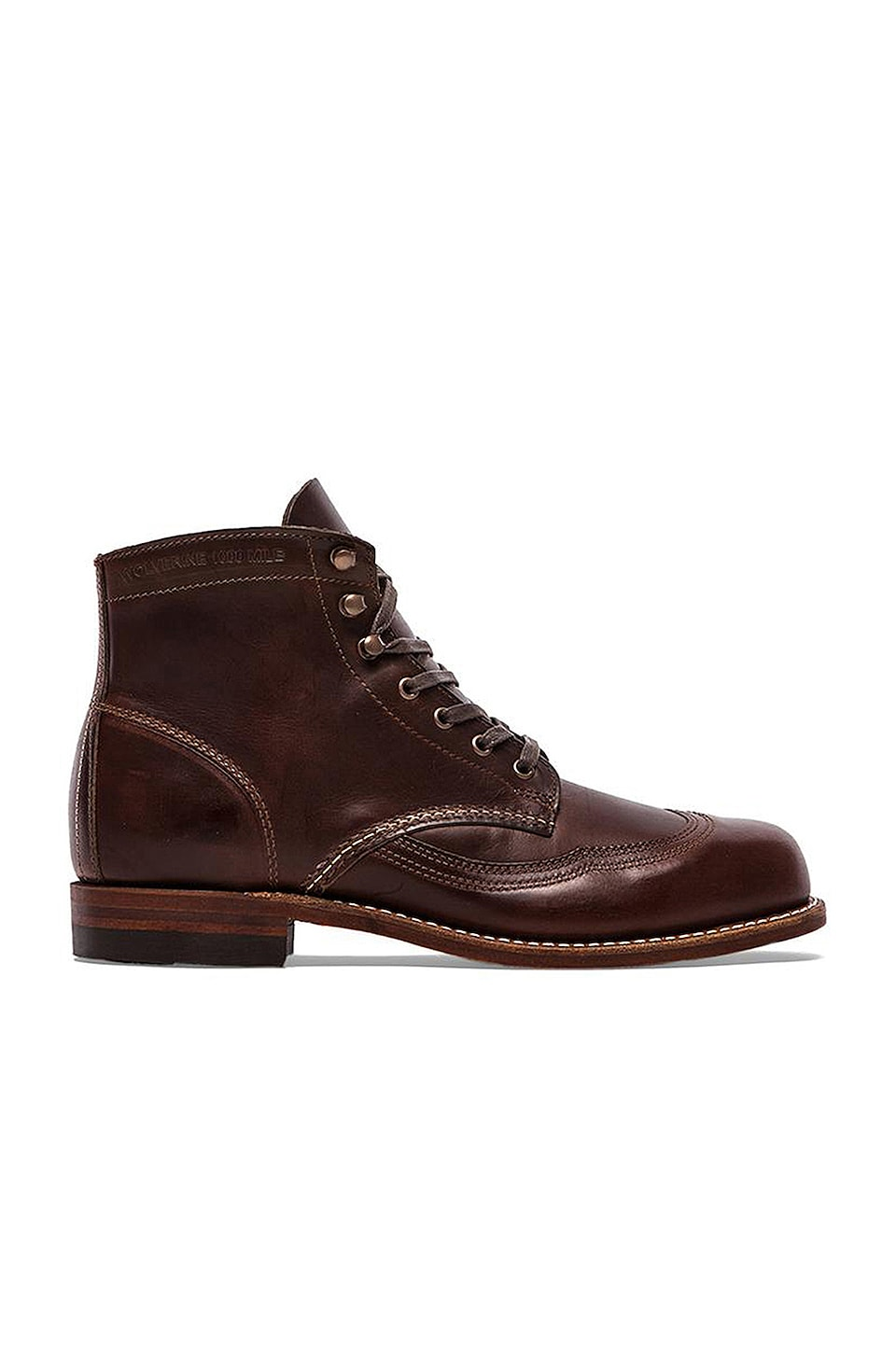 1000 Mile Addison Wingtip Boot by Wolverine