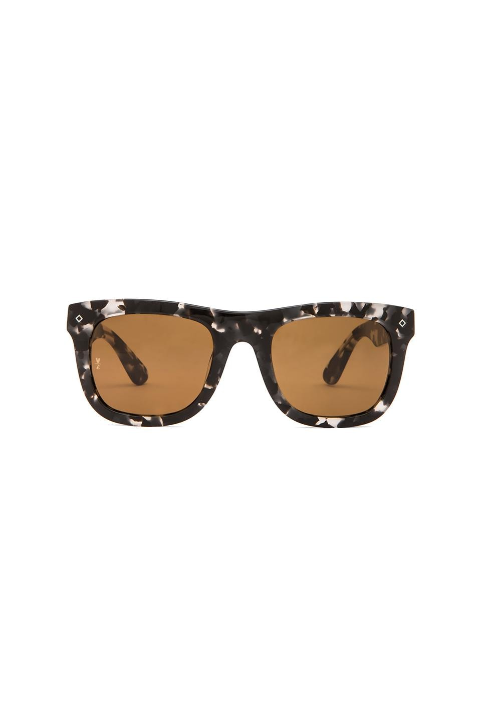 Wonderland Palms in Black Tortoise & Gray