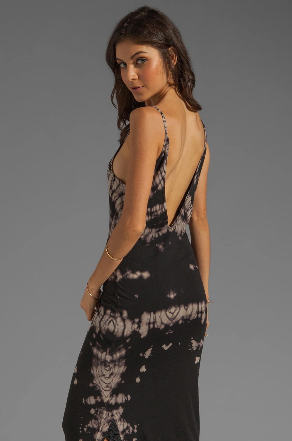WOODLEIGH Sadie Tank Maxi in Charcoal