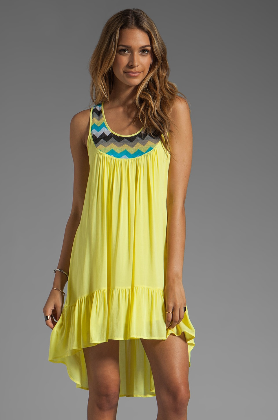 WOODLEIGH Amaya Dress in Sun