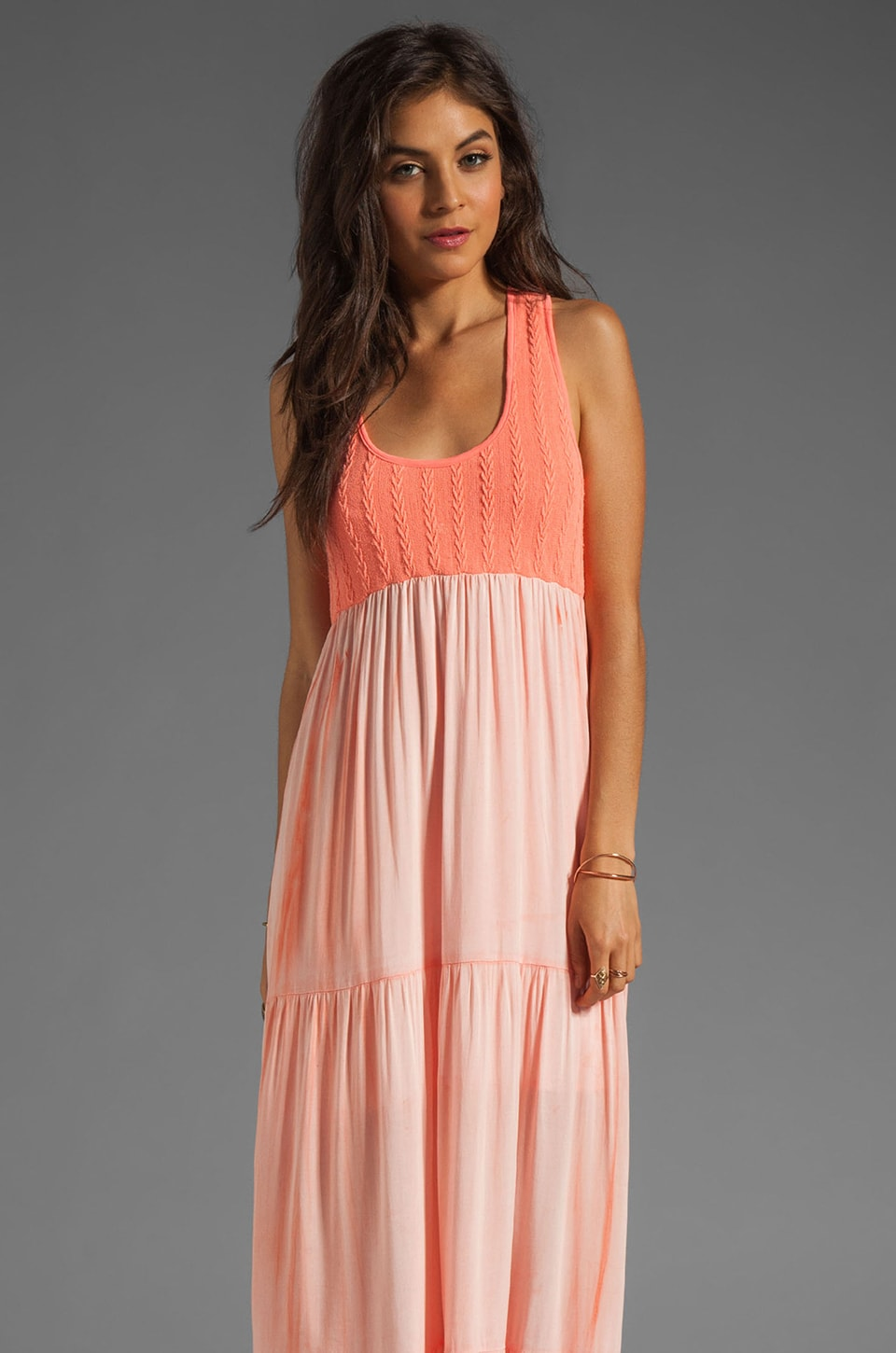 WOODLEIGH Blayke Maxi in Bright Coral